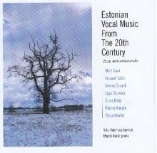 Estonian Vocal Music from the 20th Century