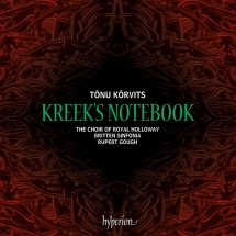 CD Tõnu Kõrvits. Kreek's Notebook