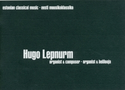 Organist and composer Hugo Lepnurm