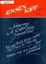 Eugen Kapp. A Winter Valse. Four Pieces for Flute and Piano