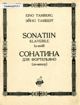 Eino Tamberg. Sonatina for Piano in A minor