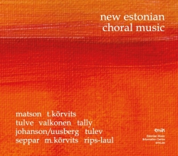 CD New Estonian Choral Music