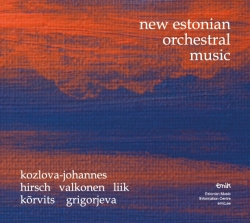 CD New Estonian Orchestral Music