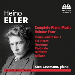 CD Heino Eller. Complete Piano Music. Volume Four
