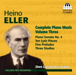 CD Heino Eller: Complete Piano Music, Volume Three