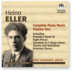 CD Heino Eller. Complete Piano Music. Volume Two