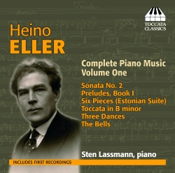 CD Heino Eller. Complete Piano Music. Volume One