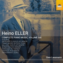 Heino Eller. Complete Piano Music. Volume Six