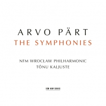 CD Arvo Pärt. The Symphonies