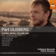 CD Pärt Uusberg. Choral Music. Volume One