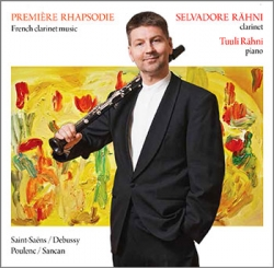 CD Première Rhapsodie. French clarinet music